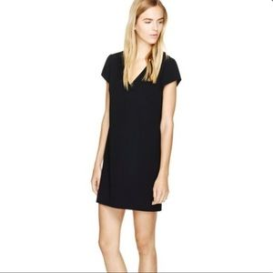 Aritzia Bavarian Black Shift Dress